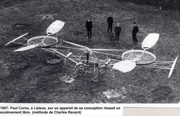 1907- helicoptere Paul Cornu