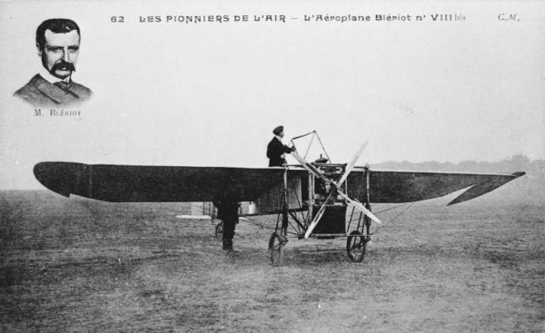 1909-Louis bleriot crossed La Manche