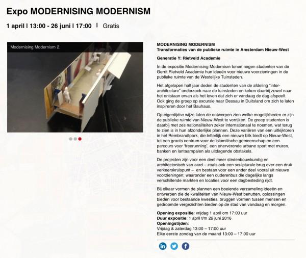Modernising MODERNISM_henri snel
